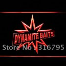 Danamite Baits Fishing  logo Beer Bar Pub Light Sign Neon