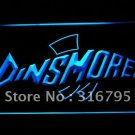 Dinsmores Fishing logo Beer Bar Pub Light Sign Neon