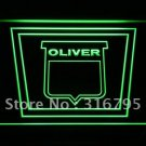 Oliver Tractor logo Beer Bar Pub Light Sign Neon