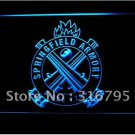 Springfield Armory Firearms Gun logo Beer Bar Pub Light Sign Neon