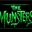 The Munsters logo Beer Bar Pub Light Sign Neon