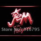 Jem and The holograms Movie logo Beer Bar Pub Light Sign Neon