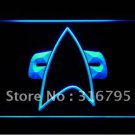 Star Trek Voyager Communicator logo Beer Bar Pub Light Sign Neon