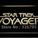Star Trek Voyager logo Beer Bar Pub Light Sign Neon