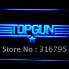 Top Gun Movie logo Beer Bar Pub Light Sign Neon
