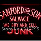 Sanford and Son buy sell Junk logo Beer Bar Pub Light Sign Neon