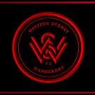 Western Sydney Wanderers Football Club LOGO Bar Club Neon Light Sign Rare