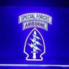 US Army Special Forces Air Borne bar beer pub club 3d signs LED Neon Sign man cave