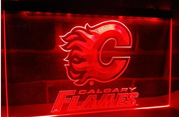 Flames bar beer pub club 3d signs LED Neon Sign man cave