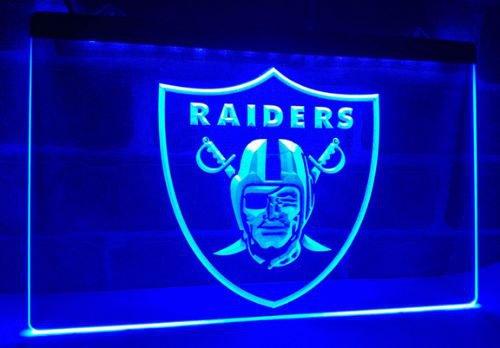 Oakland Raiders Football bar beer pub club 3d signs LED Neon Sign man cave