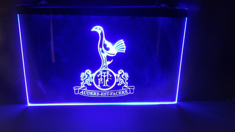 Tottenham Hotspur Football bar beer pub club 3d signs LED Neon Sign man cave