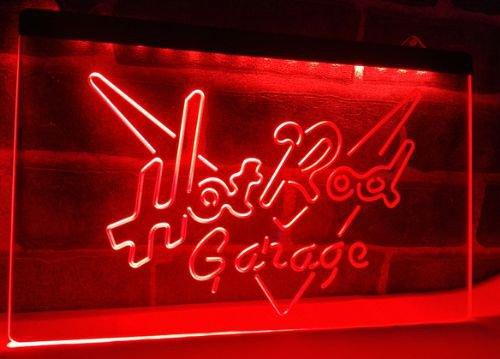 Hot Rod Garage Car bar Beer pub club 3d signs LED Neon Sign man cave