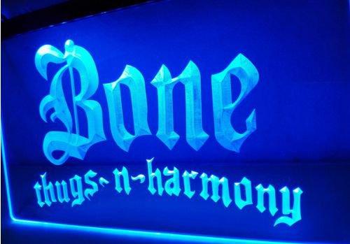 Bone Thugs Harmony bar Beer pub club 3d signs LED Neon Sign man cave