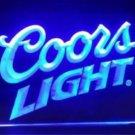 Coors Light beer Bar pub 3d signs Neon Light Sign