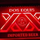 Dos Equis XX Imported Beer Logo Bar Pub Store Light Sign Neon
