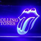 b-327 R.S The Rolling Stones Music Band VIP neon sign Room Bar Studio Decor