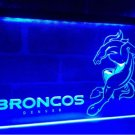 b-268 Denver Broncos Football Club Bar LED Neon Light Sign