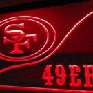 b-252 San Francisco 49ers Football LED Neon Light Sign home decor crafts