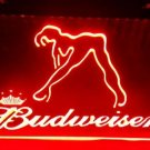 b-02 Budweiser Exotic Dancer Stripper Bar LED Neon Light Sign