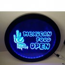 mexican food open RGB led MultiColor wireless control beer bar pub club neon light sign