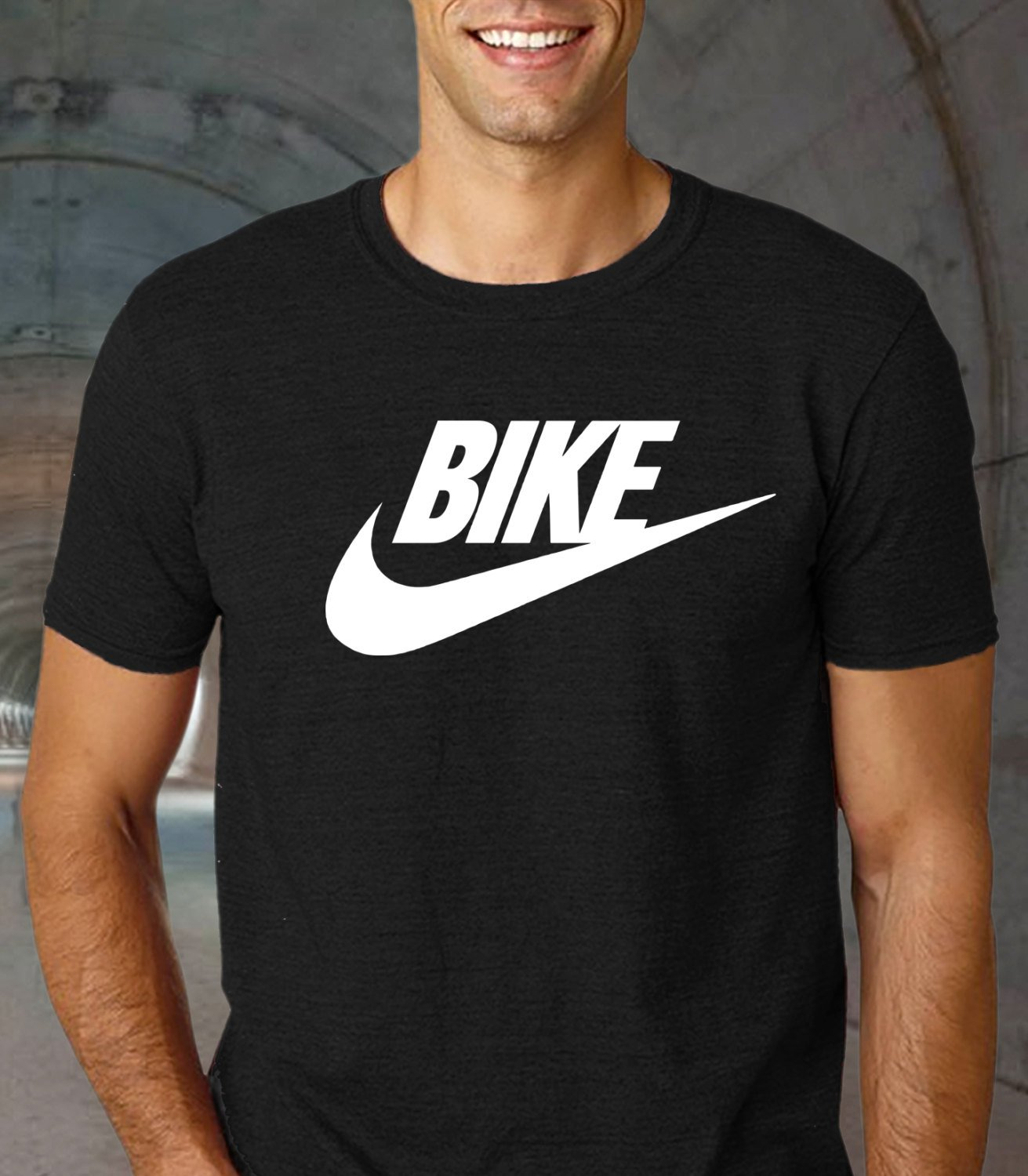 cycle nut tee, cycle gift for men, Cycology, mountain bike gift Black Tshirt For Men