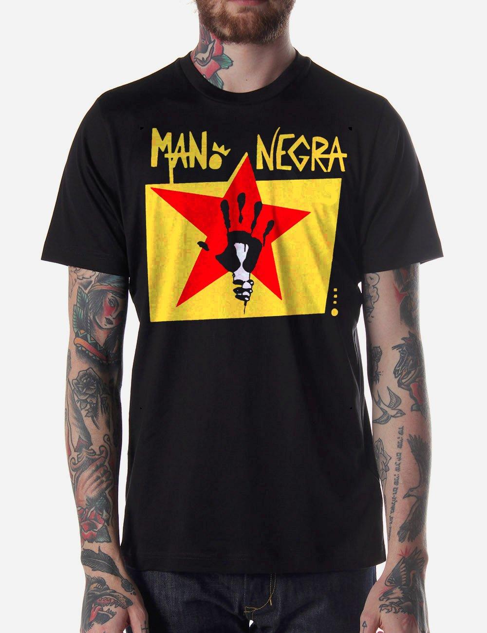 Black Men Tshirt Chao Negra logo Black Tshirt For Men