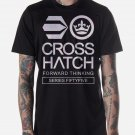 Black Men Tshirt Crosshatch Black Tshirt For Men