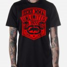 Black Men Tshirt ECKO MMA Unlimited Black Tshirt For Men