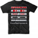 Black Men Tshirt Even God Knows It Black Tshirt For Men