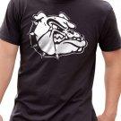 Black Men Tshirt Husband Gift Graphic Bulldog Black Tshirt For Men