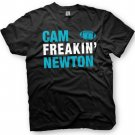 Black Men Tshirt Cam Newton - Carolina Panthers Black Tshirt For Men