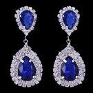 """Earrings """"Infinity"""" (Blue)"""