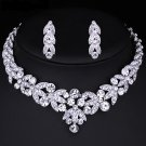 """Wedding Jewelry Set """"Blessing of Venus"""" (1 necklace and 2 earrings)"""