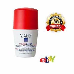 Vichy Deodorant Stress Resist ANTI-PERSPIRANT 72hr Roll on 50ml