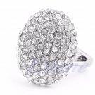 Fashion Women Wedding Ring Engagement Rings Crystal Rhinestone Jewelry Size 6-10