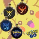 USA New Pokemon Go Necklace Team Valor Mystic Instinct Game Fans Pendant