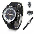 USA Quartz Watch Men Military Watches Sport Stainless Steel Silicone Wrist watch