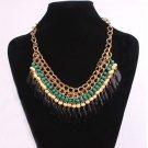USA New Fashion Charm Jewelry Pendant Chain Choker Chunky Statement Bib Necklace