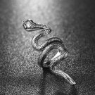 Hot Gothic Snake Ring Animal Vintage Jewelry Men Women Punk Rock Ring Size 8-9