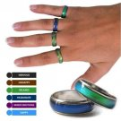 Amazing Mood Ring Emotion Feeling Color Change Adjustable Ring US Jewelry