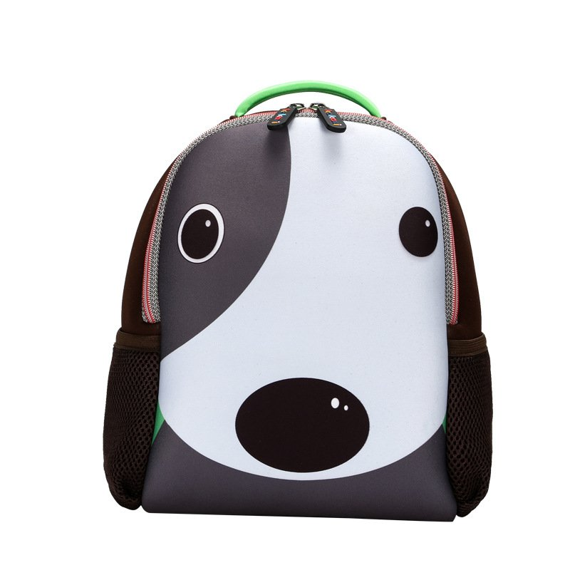 Personalization Kids Backpacks For Boys and Girls Cartoon Dog Backpacks Unique School Bags