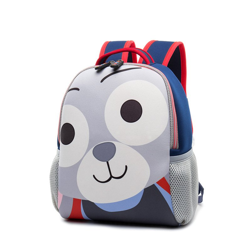 Kids Backpacks For Boys and Girls Cartoon Dog Backpacks School Bags