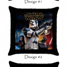 Star Wars Yoda Darth Vader Trooper Throw Pillow Case Great Gifts