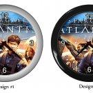 Stargate Atlantis Wall Clock Room Decor Birthday Gift Ideas
