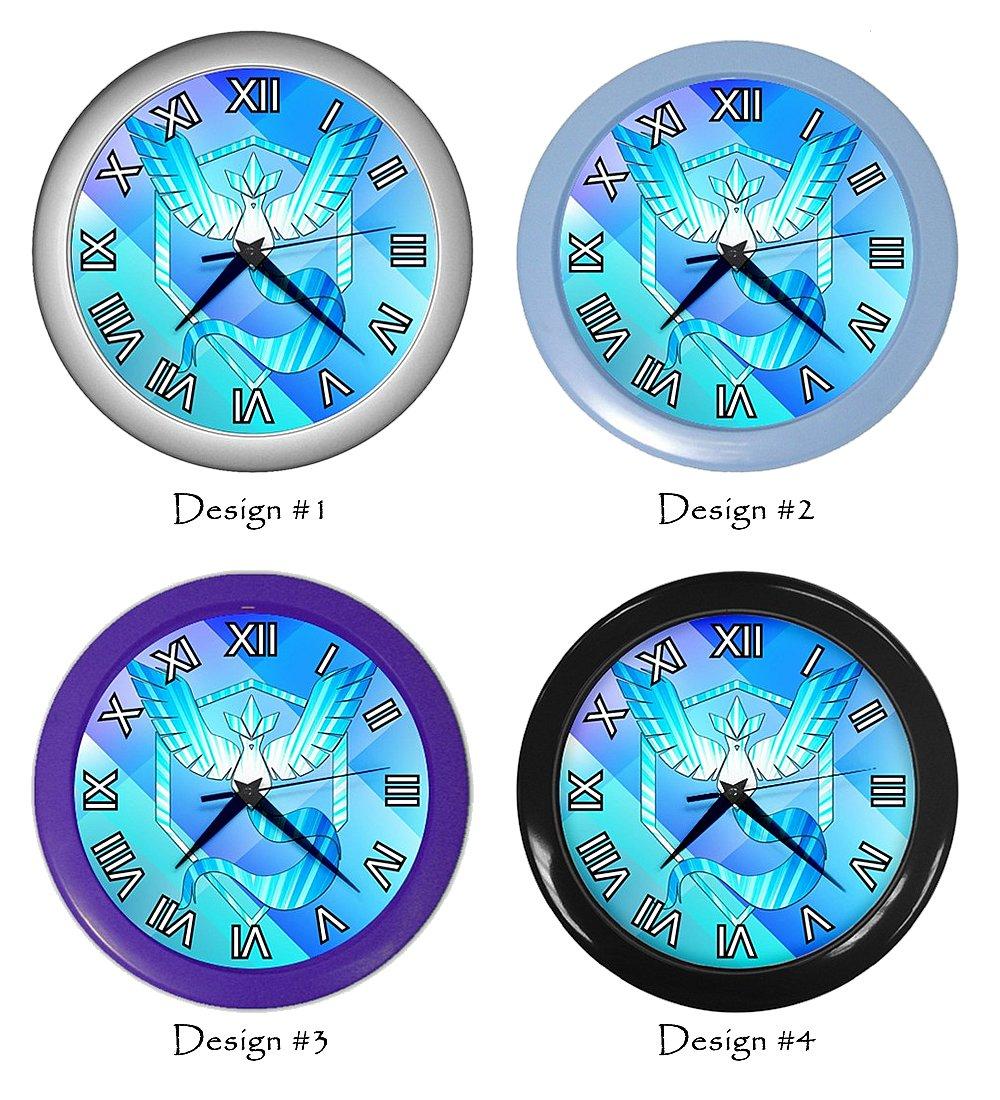 Team Mystic Pokemon Go Clocks Room Wall Decor Birthday Gift Ideas #2