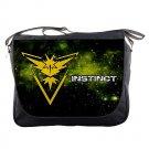 Team Instinct Messenger Bag Pokemon Go Costumes Pokeball Gifts