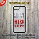 Spiderman Quotes Apple iPhone 7 / 7 Plus 6/6S 5/5C 4/4S Case Cover