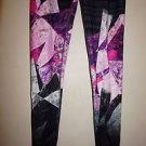Victoria's Secret Knockout tight limited edition print Ice Crystal sz S or M NWT