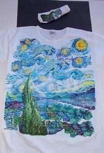 Museum Company womens nightshirt/sleepshirt & socks Van Gogh Starry Night new