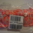 Victoria's Secret sexy tee demi bra 34B white with orange coral pattern new